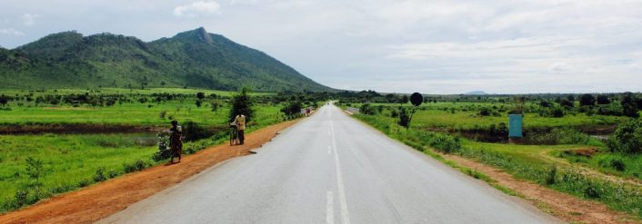 The Kasungu district, Malawi